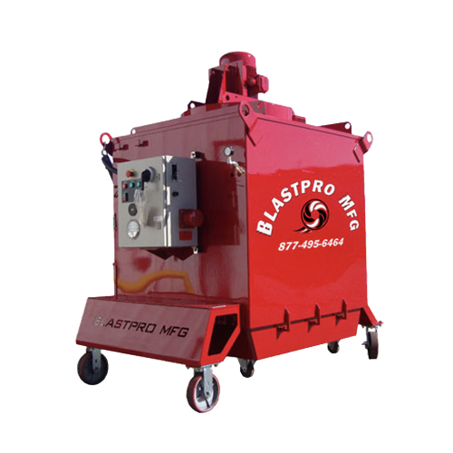 BPS 225-DC - Vertical Shotblaster Dust Collection System